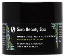 Sara Beauty Spa Hidratáló arckrém - zöld tea & aloe -  | SBS271