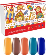 Perfect Nails Készlet - Russian Matryoshka LacGel Collection -  | PNKG025