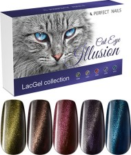 Perfect Nails Készlet - Illusion CatEye LacGel Collection -  | PNKG028