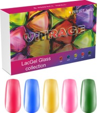 Perfect Nails Készlet - Vitrage LacGel Glass Collection -  | PNKG027