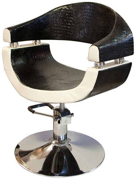 kiszolgáló szék black and white