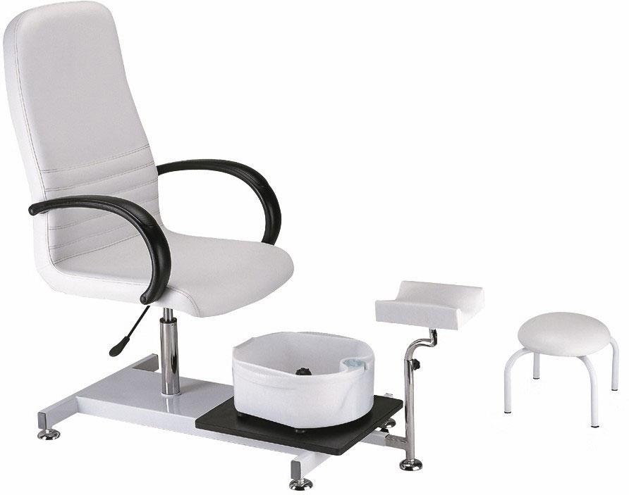 HAIRWAY Pedikűros szék, zsámollyal, elektromos lábmasszázzsal | HW52201