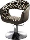 HAIRWAY Fodrász kiszolgáló szék, hidraulikus Retro -