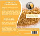 Sara Beauty Spa Gold Luxury Peel-off Mask- Arany leh�zhat� maszk