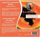 Sara Beauty Spa Exfoliating Peel-off Mask- H�mlaszt� leh�zhat� maszk papay�val