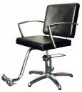 HAIRWAY Fodrász kiszolgáló szék, hidraulikus JAZZ - fekete - YD29