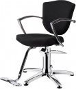 HAIRWAY Fodrász kiszolgáló szék, hidraulikus ASTRA - fekete - YD29