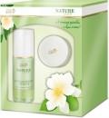LADY STELLA Golden Green Nature Line kozmetikai ajándékcsomag I. - Active boost szérummal